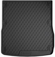 Коврик в багажник для Audi A6 '05-10 универсал, полиуретановый (GledRing)