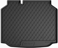 Коврик в багажник для Seat Leon '12-, хетчбэк, нижний, полиуретановый (GledRing)