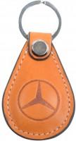 Брелок для ключей оранжевый с логотипом