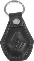 """Брелок для ключей черный с логотипом """"Renault"""" капля"""