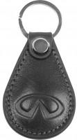 """Брелок для ключей черный с логотипом """"Infiniti"""" капля"""