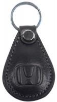 """Брелок для ключей черный с логотипом """"Honda"""" капля"""