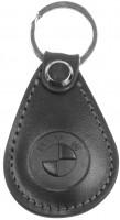 """Брелок для ключей черный с логотипом """"BMW"""" капля"""
