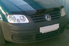 Дефлектор капота для Volkswagen Caddy '04-11 тёмный (EGR)