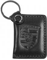 """Avtoradosti Брелок для ключей черный с логотипом """"Porshe"""" книжка"""