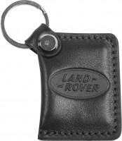 """Брелок для ключей черный с логотипом """"Land Rover"""" книжка"""