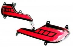 Противотуманные фары для Hyundai Santa Fe '16-17 DM задние, LED (ASP)