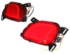 Противотуманные фары для Toyota Highlander '14- задние, LED (ASP)