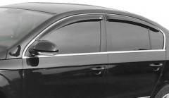 Дефлекторы окон для Volkswagen Passat B6 '05-10, седан, 4шт. (EGR)