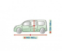 Фото товара 2 - Тент автомобильный для минивена Mobile Garage XL LAV (Kegel-Blazusiak)