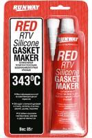 Силиконовый герметик красный Red Rtv Silicone Gasket Maker 85мл (Runway)