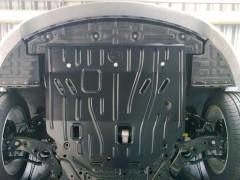 Защита двигателя и КПП для Hyundai Sonata '15-, 2.4 (Полигон-Авто)