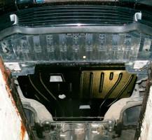 Защита двигателя и КПП для Renault Scenic '11-15, 1,5 D (Полигон-Авто)