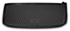 Коврик в багажник для Honda Pilot '08-15 (короткий), полиуретановый (Novline / Element)