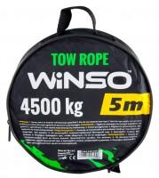 Трос ленточный с металлическими крючками 4,5 т., 5м. (WINSO)
