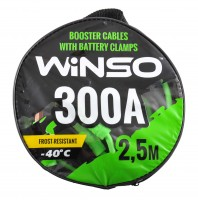 Провода прикуривателя 300А, 2,5 м, сумка (WINSO)