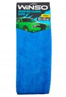 Салфетка из микрофибры 30х30см, синяя WINSO)