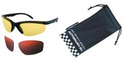Очки водителя Premium СF125K (желтые, темно-коричневые)