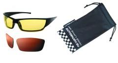 Очки водителя Premium СF939K (желтые, темно-коричневые)