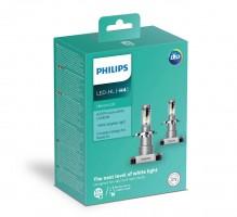 Фото 3 - Автомобильные лампочки Philips Ultinon LED H4 (P43T) 6200К (2 шт.) 11342ULWX2