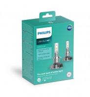 Фото 3 - Автомобильные лампочки Philips Ultinon LED H7 (PX26d) 6200К (2 шт.) 11972ULWX2