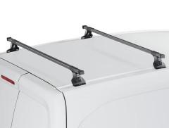Багажник Ford Connect '02-13 (длин. и кор. база) в штатные места CRUZ 30x20-120, черный