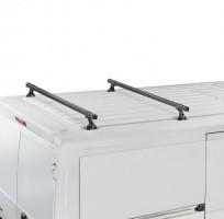 Багажник Citroen Jumpy '96-07 (длин. и кор. базы) в штатные места CRUZ 30x20, черный