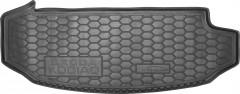 Коврик в багажник для Skoda Kodiaq '17-, 7 мест, короткий, резиновый (AVTO-Gumm)