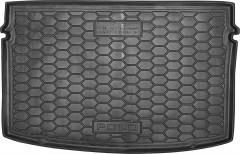 Коврик в багажник для Volkswagen Polo '17-, резиновый (AVTO-Gumm)