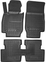 Коврики в салон для Mazda CX-3 '15- резиновые, черные (AVTO-Gumm)