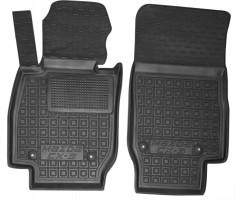 Коврики в салон передние для Mazda CX-3 '15- резиновые, черные (AVTO-Gumm)