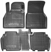 Коврики в салон для Mercedes Citan '13- резиновые, черные (AVTO-Gumm)