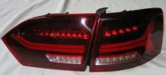 Фото 2 - Фонари задние для Volkswagen Jetta VI '12- LED, к-кт (Junyan)
