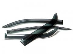 Дефлекторы окон для Chevrolet Aveo '11- хетчбек (Auto Сlover)