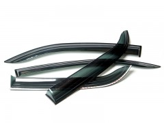 Дефлекторы окон для Kia Picanto '11-17, 5дв. (Auto Сlover)
