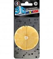"Ароматизатор ""3D"", лимон Aromcom"