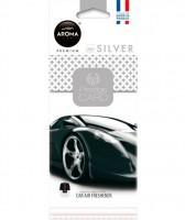 "Ароматизатор Aroma Car ""Prestige Card"" Silver"