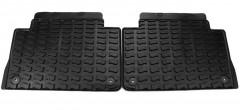 Коврики в салон для Audi Q7 '05-14, резиновые, задние, черные (VAG-Group) 4L0061511041