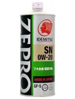 Idemitsu Zepro Eco Medalist 0W-20 (1 л.)