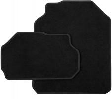Коврики в салон для Skoda Kodiaq '17-, текстильные, черные, 3-й ряд (VAG-Group) 565061450