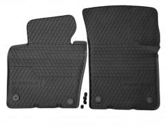 Коврики в салон Volkswagen Passat B6,B7 '05-14,  черные, резиновые, передние (VAG-Group) 3C1061502A82V
