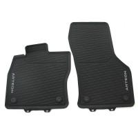 Коврики в салон Volkswagen Arteon '17-,  черные, резиновые, передние (VAG-Group) 3G806150282V