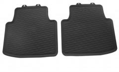 Коврики в салон Volkswagen Arteon '17-, черные, резиновые, задние (VAG-Grop) 3G806151282V