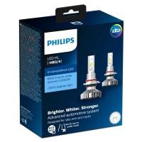 Автомобильные лампы Philips X-tremeUltinon LED, 6500 K, HB3/HB4 (2 шт.) 11005XUWX2