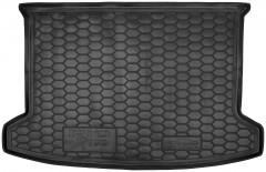Коврик в багажник для Kia Rio 2017 -  хэтчбек, X-Line, резиновый (AVTO-Gumm)