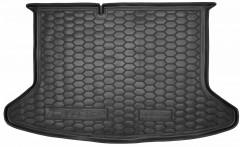 Коврик в багажник для Kia Niro '17-, без органайзера, резиновый (AVTO-Gumm)
