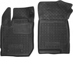 Коврики в салон передние для Renault Duster 2 '17- резиновые, черные (AVTO-Gumm)