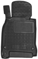 Коврик в салон водительский для Infiniti M (Q70) '11- резиновые, черные (AVTO-Gumm)