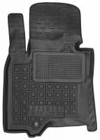 Коврик в салон водительский для Infiniti FX (QX70) '09- резиновые, черные (AVTO-Gumm)