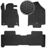 Коврики в салон для Acura MDX '06-13, EVA-полимерные, черные (Kinetic)